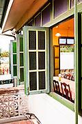 Old Sino-Portuguese building houses Raya resaurant, Phuket.