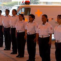 Toluca, Méx.- En la celebracion del dia Internacional de la Cruz Roja, 24 elementos de la Cruz Roja se integran al servicio de emergencia como paramedicos certificados. Agencia MVT / Mario Vazquez de la Torre. (DIGITAL)<br /> <br /> NO ARCHIVAR - NO ARCHIVE