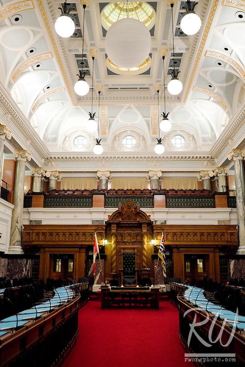 BC Parliament, Victoria, B.C, Canada
