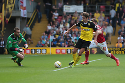 Nottingham Forest's Jamie Mackie looks for the ball  - Photo mandatory by-line: Nigel Pitts-Drake/JMP - Tel: Mobile: 07966 386802 25/08/2013 - SPORT - FOOTBALL -Vicarage Road Stadium - Watford -  Watford v Nottingham Forest - Sky Bet Championship