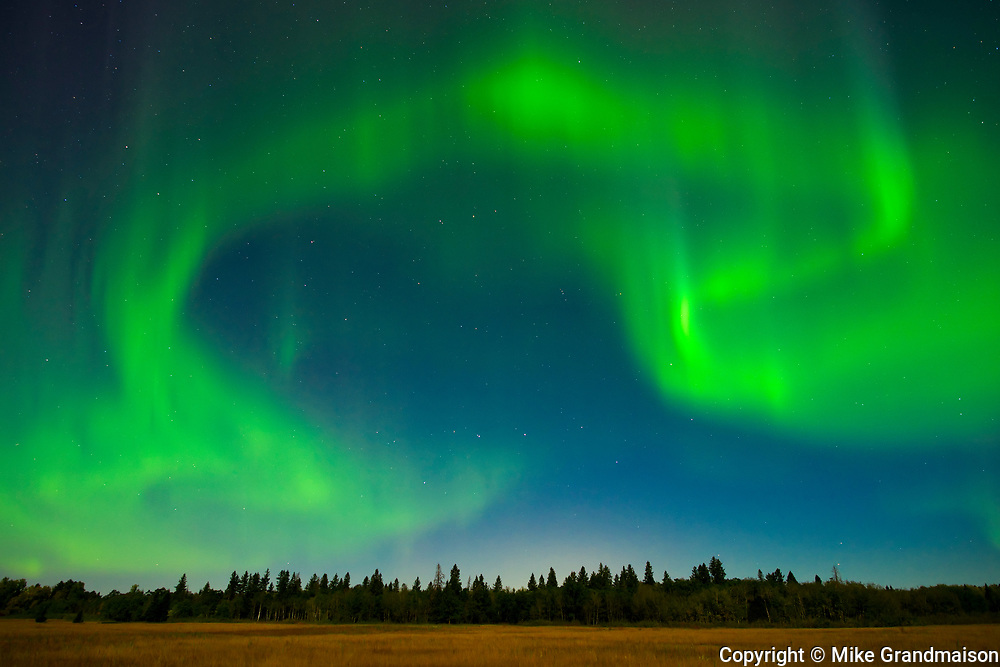 Northern lights (Aurora borealis)<br />