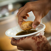 Panipuri, or Pani puri, is a snack synonymous with the beaches of Mumbai. However, it is also very popular in all other parts of India known by many names like golgappa (plural golguppe) in North India, Foochka (Puchka) in West Bengal and Gupchup in some central parts of India like Hyderabad.