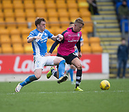 Dundee&rsquo;s Mark O&rsquo;Hara goes past St Johnstone&rsquo;s Liam Craig - St Johnstone v Dundee in the Ladbrokes Scottish Premiership at McDiarmid Park, Perth: Picture &copy; David Young<br /> <br />  - &copy; David Young - www.davidyoungphoto.co.uk - email: davidyoungphoto@gmail.com