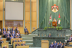 Jordan's Royal Family Attends Parliament Inauguration - Amman 15 Oct 2018