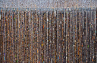 The mechanical sewage treatment screen at Werdhölzli provides a lovely texture/pattern shot.