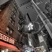 Sea Oyster Bar at night in Manhattan