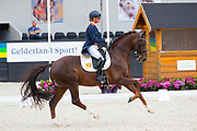 Adelinde Cornelissen - Fleau de Baian<br /> WK Selectie Jonge Dressuurpaarden 2017<br /> © DigiShots