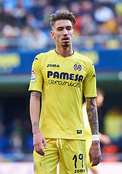 January 28, 2017 - Villarreal, Castellon, Spain - Samu Castillejo of Villarreal CF looks on during their La Liga match between Villarreal CF and Granada CF at the Estadio de la Ceramica on 28 January 2017 in Vila-real, Spain. (Credit Image: © Maria Jose Segovia/NurPhoto via ZUMA Press)
