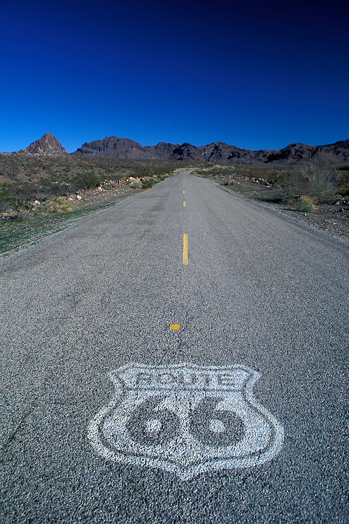 Old Route 66, Near Oatman, Arizona, USA