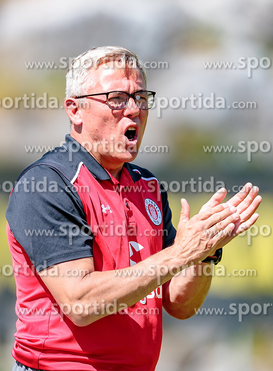 16.07.2017, Sportplatz Buergerau, Saalfelden, AUT, Testspiel, FC St. Pauli vs FC Wil 1900, im Bild Trainer Olaf Janssen (FC St. Pauli) // during the Friendly Football Match between FC St. Pauli and FC Wil 1900 at the Stadion Buergerau, Saalfelden, Austria on 2017/07/16. EXPA Pictures © 2017, PhotoCredit: EXPA/ JFK