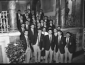 1989 - Mayo All Ireland Team At Iveagh House.  (T6).