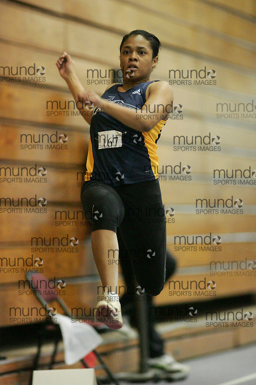 London, Ontario ---11-01-22---   Nathana Griffiths of the Windsor Lancers competes at the 2011 Don Wright meet at the University of Western Ontario, January 22, 2011..GEOFF ROBINS/Mundo Sport Images.