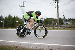 Kirsten Wild (NED) of Cylance Pro Cycling rides during the prologue of the Ladies Tour of Norway - a 3.4 km time trial, starting and finishing in Halden on August 17, 2017, in Ostfold, Norway. (Photo by Balint Hamvas/Velofocus.com)