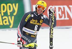 KOSTELIC Ivica  of Croatia during 2nd Run of the 10th Men's Slalom - Pokal Vitranc 2013 of FIS Alpine Ski World Cup 2012/2013, on March 10, 2013 in Vitranc, Kranjska Gora, Slovenia. (Photo By Vid Ponikvar / Sportida.com)
