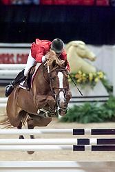 Minikus Todd, USA, Olympic Star<br /> World Cup Final Jumping - Las Vegas 2000<br /> © Hippo Foto - Dirk Caremans