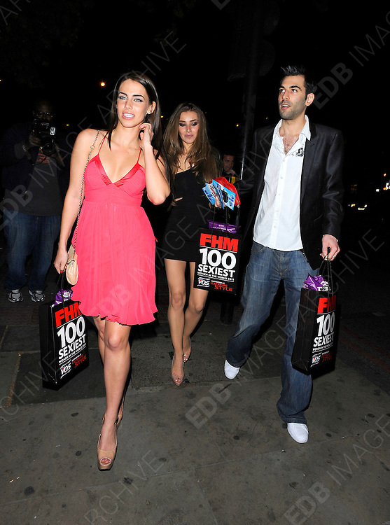 04.MAY.2011. LONDON<br /> <br /> JESSICA LOWNDES AT THE FHM 100 SEXIEST WOMEN IN THE WORLD 2011 LAUNCH PARTY HELD AT ONE MARYLEBONE ROAD IN LONDON<br /> <br /> BYLINE: EDBIMAGEARCHIVE.COM<br /> <br /> *THIS IMAGE IS STRICTLY FOR UK NEWSPAPERS AND MAGAZINES ONLY*<br /> *FOR WORLD WIDE SALES AND WEB USE PLEASE CONTACT EDBIMAGEARCHIVE - 0208 954 5968*