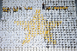 October 20, 2018 - Turin, Turin, Italy - Fans of Juventus cheer before the serie A match between Juventus FC and Genoa CFC at Allianz Stadium on October 20, 2018 in Turin, Italy. (Credit Image: © Giuseppe Cottini/NurPhoto via ZUMA Press)