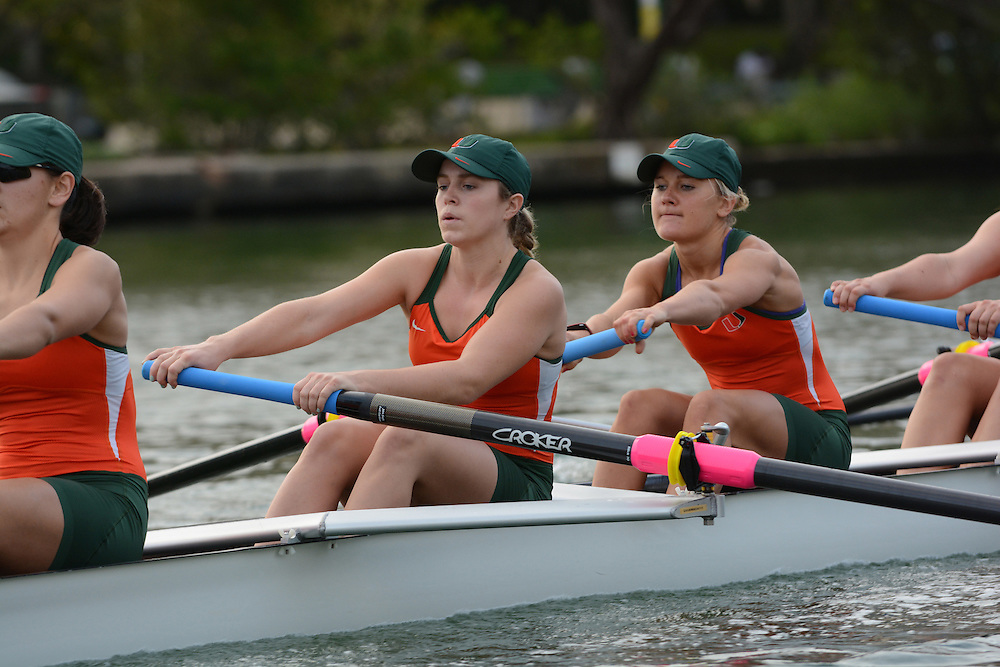 2014 Miami Hurricanes Rowing Photo Day #2