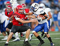 09/29/17 HS FB Bridgeport vs. Buckhannon-Upshur
