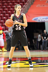 04 January 2015:  Kylie Giebelhausen during an NCAA MVC (Missouri Valley Conference) women's basketball game between the Southern Illinois Salukis and the Illinois Sate Redbirds at Redbird Arena in Normal IL