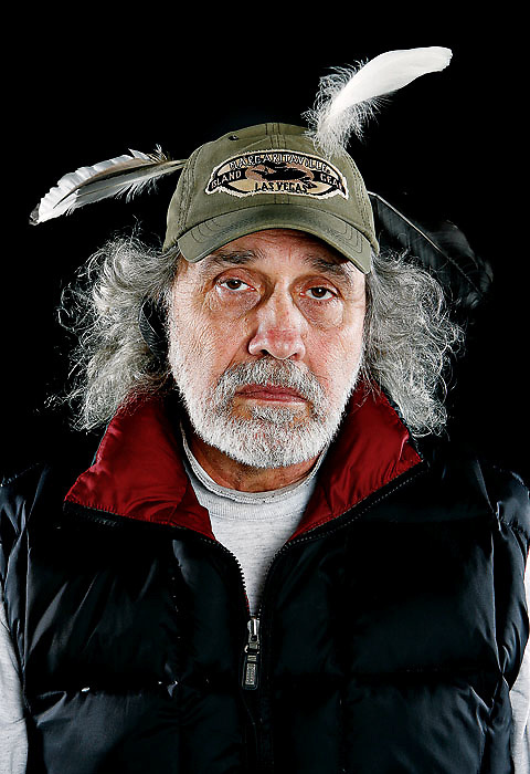 Dave Trader is a background actor who plays a fisherman walking down the street in the upcoming film Twilight.