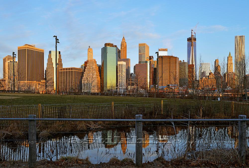 Morning in New York City