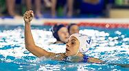 3 Arianna Garibotti ITA<br /> Italy ITA (White cup) Vs Hungary HUN (Blue cup)<br /> Waterpolo Women's FINA Europa Cup<br /> Piscina Monte Bianco - Verona VR<br /> Photo Pasquale Mesiano/ Deepbluemedia /Insidefoto