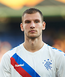 September 20, 2018 - Vila-Real, Castellon, Spain - Borna Barisic of Rangers FC prior the UEFA Europa League Group G match between Villarreal CF and Rangers FC at La Ceramica Stadium on September 20, 2018 in Vila-real, Spain. (Credit Image: © Maria Jose Segovia/NurPhoto/ZUMA Press)