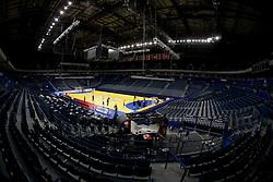 Arena during the 10th EHF European Handball Championship Serbia 2012, on January 26, 2012 in Beogradska Arena, Belgrade, Serbia.  (Photo By Vid Ponikvar / Sportida.com)