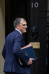 © Licensed to London News Pictures. 10/07/2018. London, UK. Secretary of State for Health and Social Care Matt Hancock arrives on Downing Street for the Cabinet meeting. Photo credit: Rob Pinney/LNP