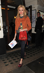 Pixie Lott leaves the Piccadilly Theatre after watching 'Viva Forever'. London, UK. 21/03/2013<br />BYLINE MUST READ : GOTCHAIMAGES.COM<br /><br />Copyright by © Gotcha Images Ltd. All rights reserved.<br />Usage of this image is conditional upon the acceptance <br />of Gotcha Images Ltd, terms and conditions available at<br />www.gotchaimages.com