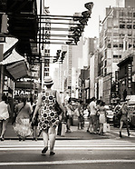 B&W: New York  City Streets