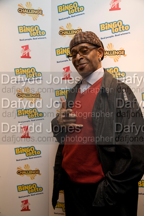 ANTONIO FARGAS, Bingo Lotto launch party. Soho Hotel Richmond Mews. London. 29 February 2008.  *** Local Caption *** -DO NOT ARCHIVE-© Copyright Photograph by Dafydd Jones. 248 Clapham Rd. London SW9 0PZ. Tel 0207 820 0771. www.dafjones.com.