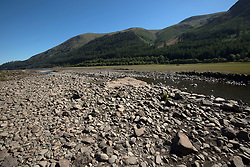 © Licensed to London News Pictures. 30/06/2018. Thirlmere, UK.  Very little water flows in a stream near Thirlmere Reservoir in the Lake District as the heat wave continues.  Photo credit: Anna Gowthorpe/LNP