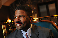 Profile portrait session of Roger O. Crockett,  Principal at R.O. Crockett Leadership Institute, photographed at Hotel Allegro in Chicago..