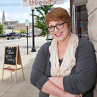 ginger threads pre-opening store shoot.