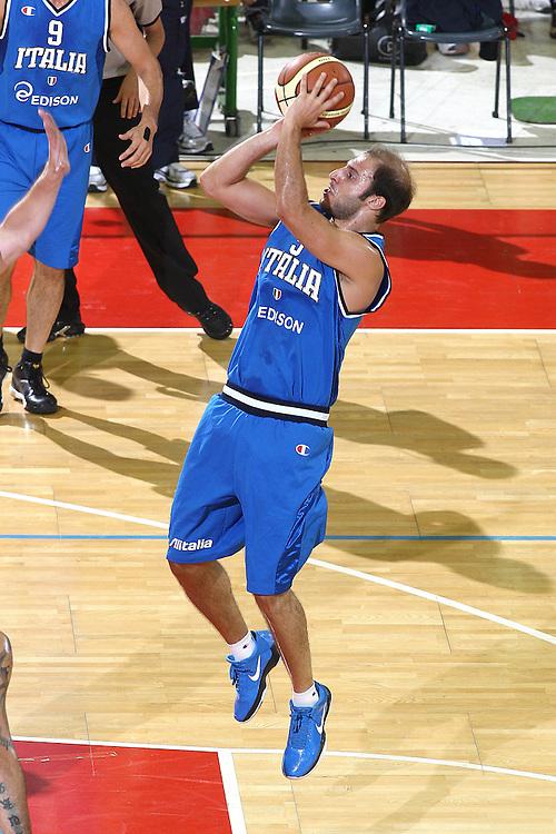 DESCRIZIONE : Firenze I&deg; Torneo Nelson Mandela Forum Italia Macedonia<br /> GIOCATORE : Jacopo Giachetti<br /> SQUADRA : Nazionale Italiana Uomini <br /> EVENTO : I&deg; Torneo Nelson Mandela Forum Italia Macedonia<br /> GARA : Italia Macedonia<br /> DATA : 16/07/2010 <br /> CATEGORIA : tiro<br /> SPORT : Pallacanestro <br /> AUTORE : Agenzia Ciamillo-Castoria/GiulioCiamillo<br /> Galleria : Fip Nazionali 2010