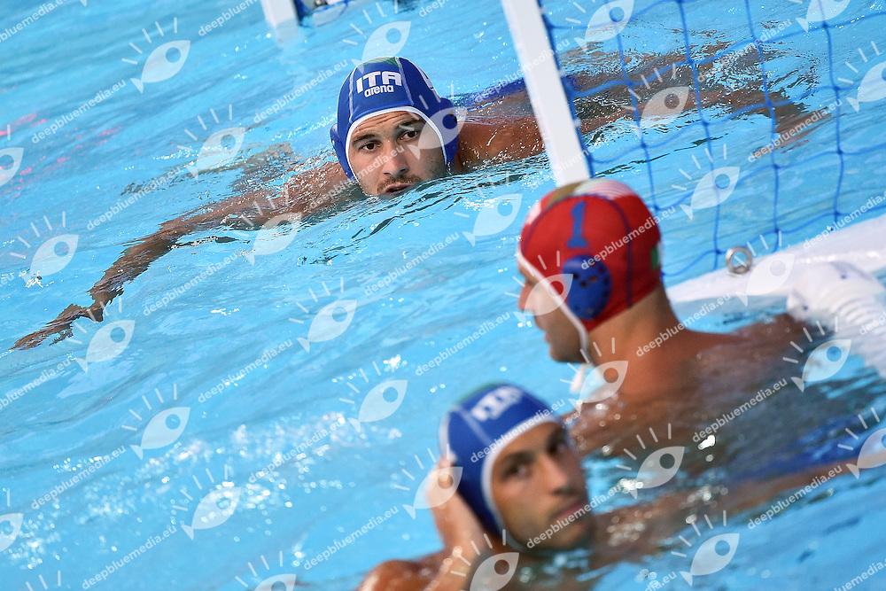 FIGLIOLI Pietro ITA <br /> Day6 29/07/2015 Water Polo Arena <br /> Men's Water Polo / Pallanuoto Russia RUS - Italy ITA / Russia Italia <br /> XVI FINA World Championships Aquatics  <br /> Kazan Tatarstan RUS <br /> Photo Andrea Staccioli/Deepbluemedia/Insidefoto