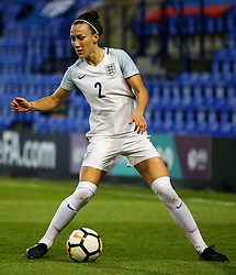 Lucy Bronze of England - Mandatory by-line: Matt McNulty/JMP - 19/09/2017 - FOOTBALL - Prenton Park - Birkenhead, United Kingdom - England v Russia - FIFA Women's World Cup Qualifier
