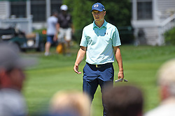 June 24, 2017 - Cromwell, Connecticut, U.S - Jordan Spieth during the third round of the Travelers Championship at TPC River Highlands in Cromwell, Connecticut. (Credit Image: © Brian Ciancio via ZUMA Wire)