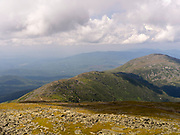 Looking north from the top of Mt. Washington, Sargent's Purchase, New Hampshire, USA.