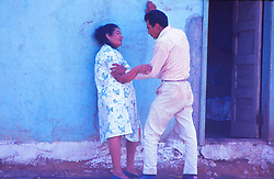 Man and Women Talking, Mexico