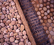 Punta Mita, north of Puerto Vallarta, Mexico:.Rock and stone is used as a building material in Puerto Vallarta, as illustrated at the 4 Seasons Punta Mita, a luxury resort on the west coast of Mexico north of Puerto Vallarta. (Photo:Ann Summa).