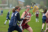 Lakes Region Lacrosse U13 girls versus Hampton Attack May 15, 2011.