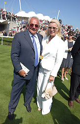 DOREEN TABOR and JOHNNY GOLD at the 3rd day of the Glorious Goodrwood Racing festival 2006 - Ladies Day, at Goodwood Race course, West Sussex on 3rd August 2006.<br /><br />NON EXCLUSIVE - WORLD RIGHTS