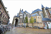 Nederland, Nijmegen, 29-11-2015 De St Stevenskerk en de stevenstoren is na een grondige restauratie, renovatie, weer in volle glorie te zien. Foto: Flip Franssen/Hollandse Hoogte