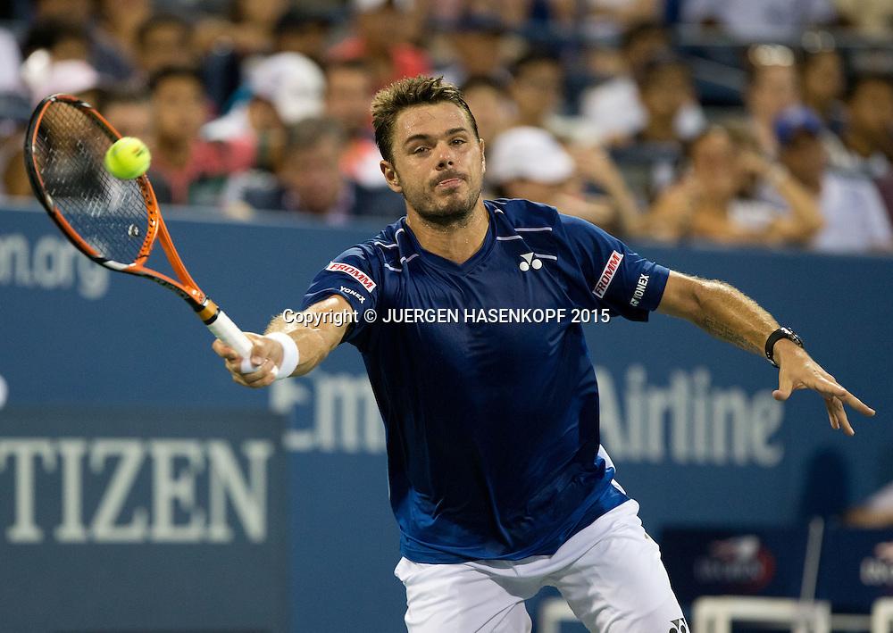 Stan Wawrinka (SUI)<br /> <br /> Tennis - US Open 2015 - Grand Slam ITF / ATP / WTA -  Flushing Meadows - New York - New York - USA  - 9 September 2015.
