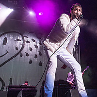 Kasabian in concert at the SSE Hydro, Glasgow, Scotland, Britain 25th November 2017