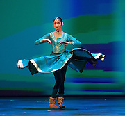 BBC Young Dancer 2015 <br /> at Sadler's Wells, London, Great Britain <br /> 8th May 2015 <br /> <br /> Grand Final <br /> TX Saturday 7pm on 9th May 2015 <br /> <br /> <br /> Vidya Patel - South Asian <br /> <br /> Photograph by Elliott Franks <br /> Image licensed to Elliott Franks Photography Services