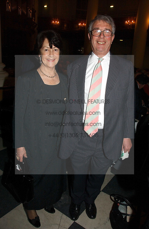 TOBY &amp; EIRA JESSEL at the annual House of Lords and House of Commons Parliamentary Palace of Varieties in aid of Macmillan Cancer Support held at St.John's Smith Square, London W1 on 1st February 2007.<br /><br />NON EXCLUSIVE - WORLD RIGHTS